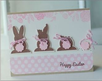 Inspiration: Eaten Chocolate Bunny Card