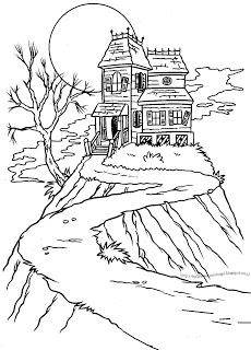 Freebie: Haunted House Digis