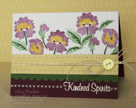 Project: Pansy Floral Card