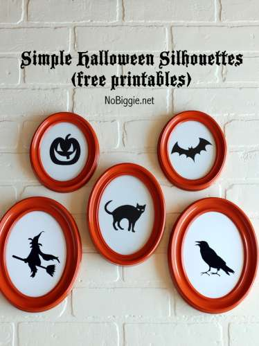 Freebie and Project: Halloween Silhouettes