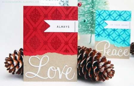 Project: Christmas ATC's