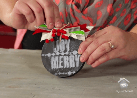 Project: Chalkboard Ornament