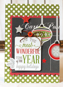 Project: Holiday Ornament Card