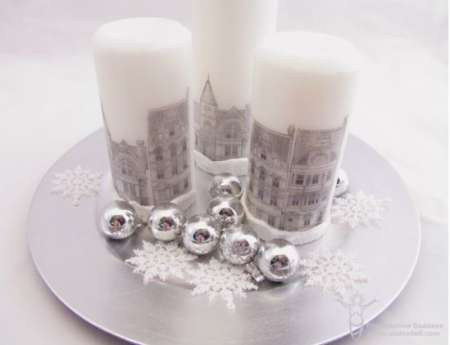 Project: Stamped Candles