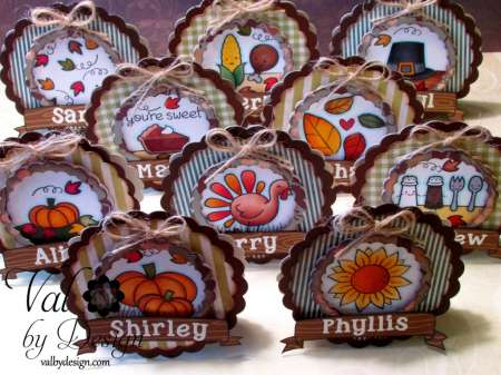 Project: Thanksgiving Placecards