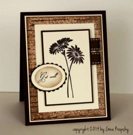 Project: Stamped Get Well Card