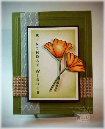 Project: Flower Card