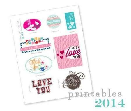 Freebie: Card Printables