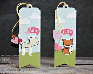 Project: Valentine Bookmarks