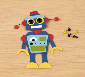 Freebie: Paper Robot Pattern