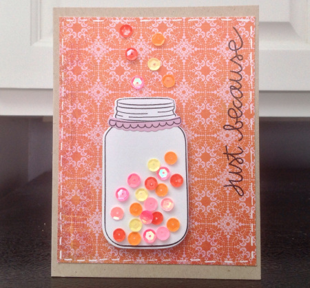 Project: Sequin Card
