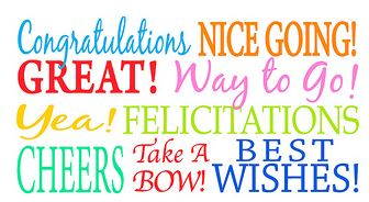 Freebie: Congrats Sayings