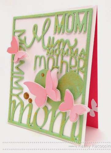 Project: Mother's Day Die Cut Card