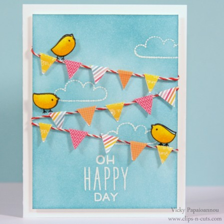 Project: Happy Day Bird Card