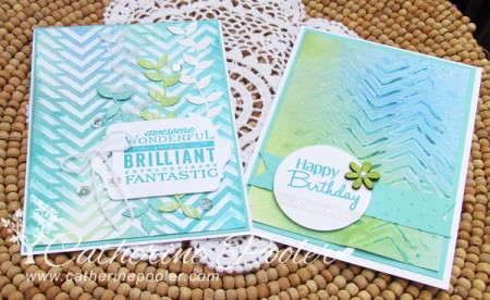 Tutorial: Mixed Media Card Background