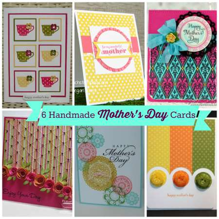6 Handmade Mother's Day Cards