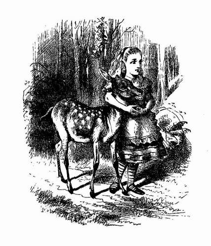 Freebie: Vintage Alice in Wonderland Image