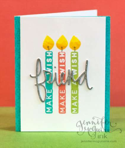 Tip: Stamping with the Backs of Clear Stamps