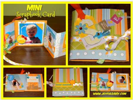 Project: Mini Scrapbook Card