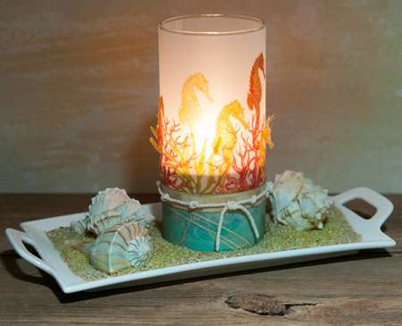 Project: Seahorse Candle