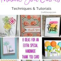 8 Ideas For Extra Special Handmade Thank You Card