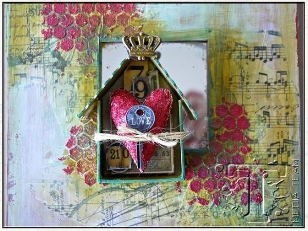 Project Mixed Media Home Decor Stamping