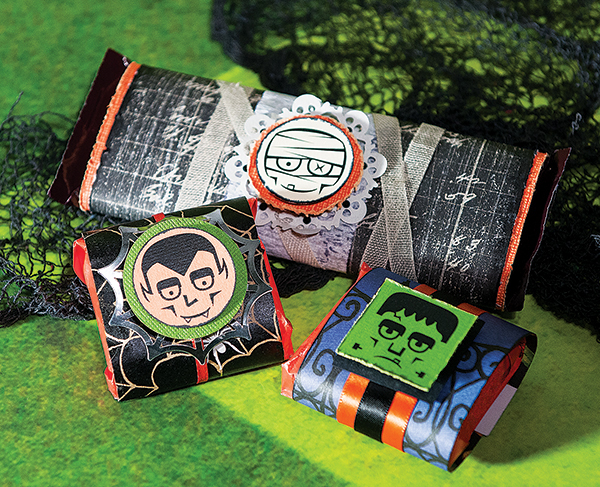 Project: Halloween Candy Wrappers