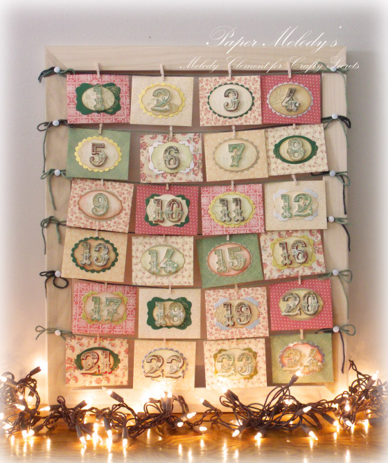Project: Envelope Advent Calendar