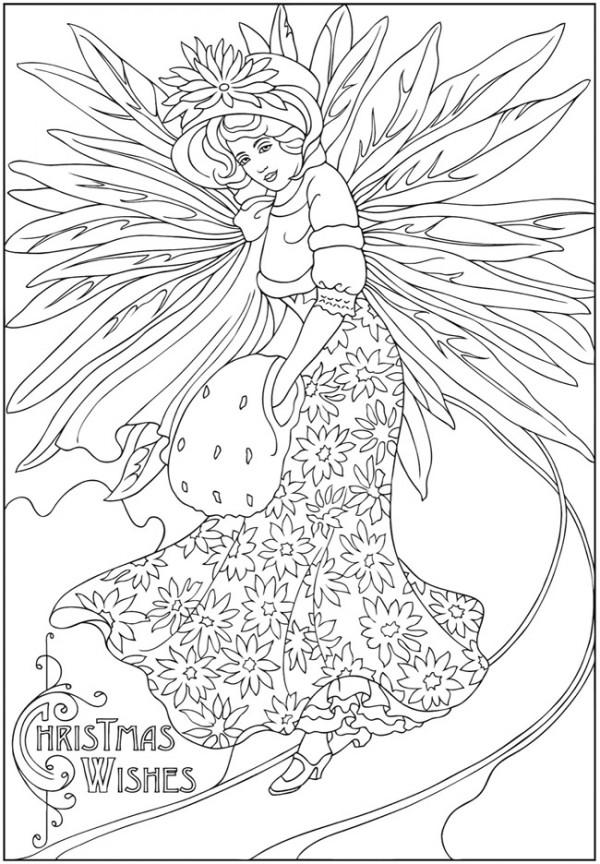 Freebie: Winter Fairy Image