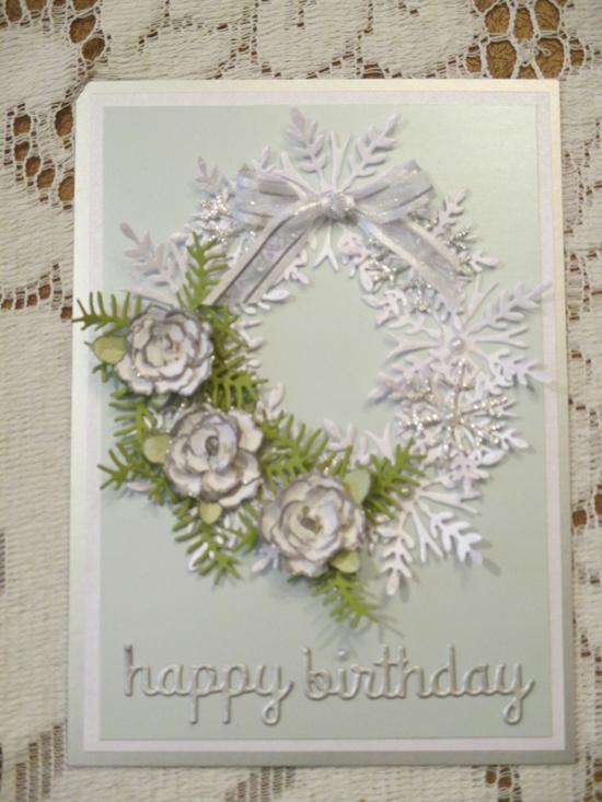 Project: Winter Birthday Card