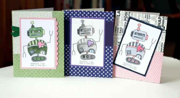 Freebie: Robot Digital Stamp