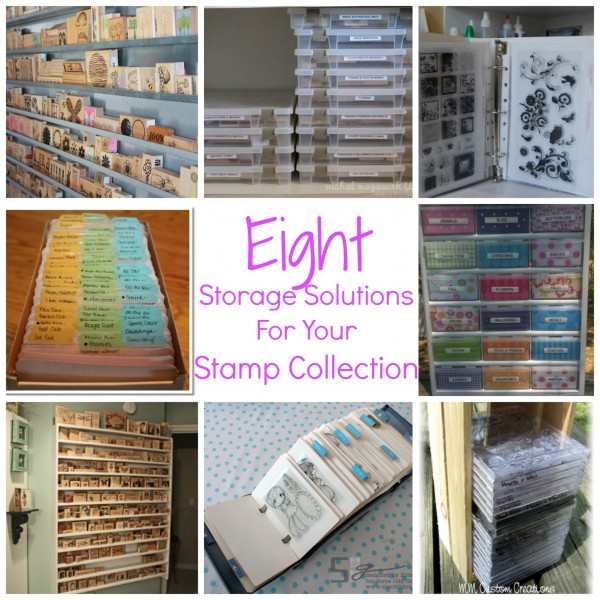If You Have Stamping As A Hobby, You Know How Incredibly Addicting It Can  Be, And Along With That Addiction Comes An Immense Collection Of Stamps.