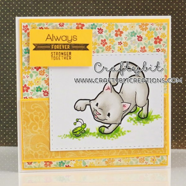 Project : Cute Kitty Card