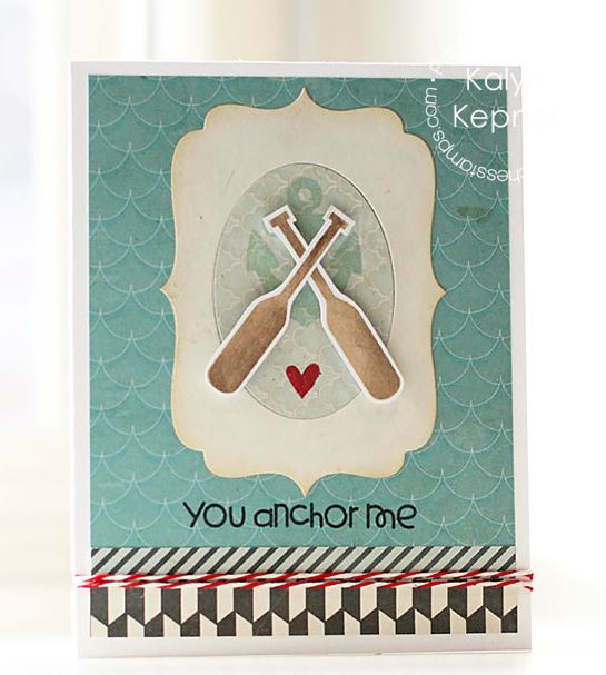Project: Masculine Valentine Card
