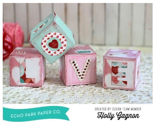 Project: Valentine's Day Home Décor Blocks