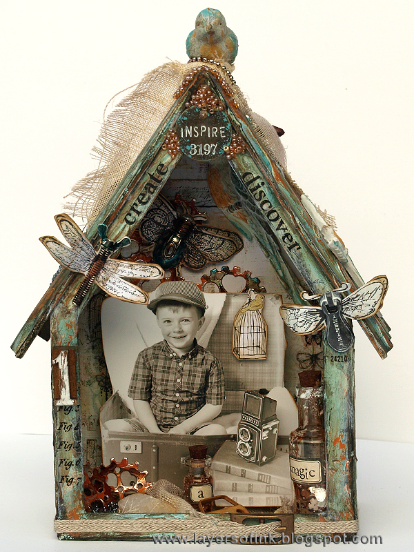 Project: Collage Art Bird House
