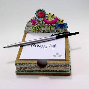 Project: Altered Notepad Holder