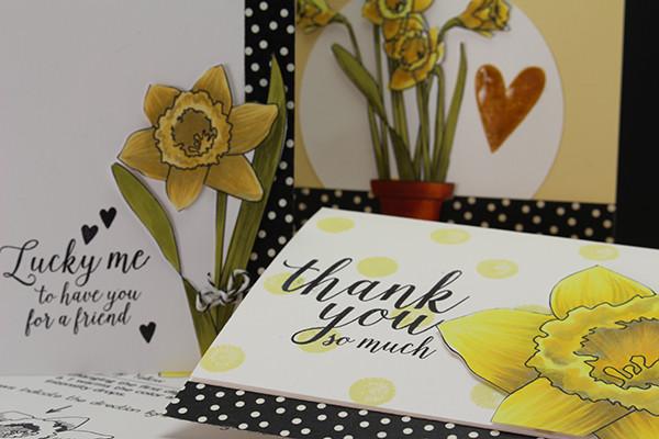 Freebie: Spring Flower Digital Stamp