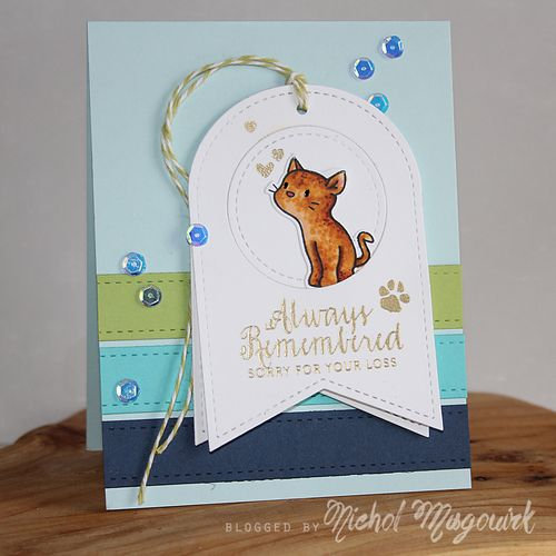 Project: Pet Sympathy Card