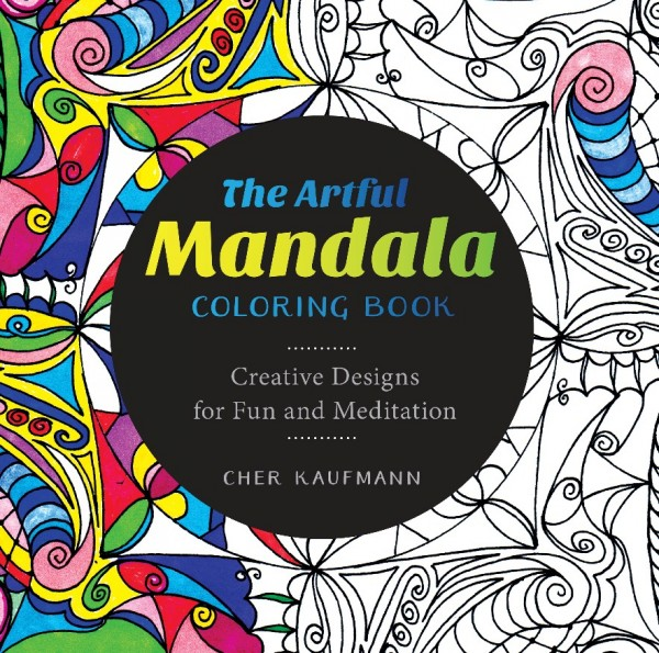 Book Review and Freebie: The Artful Mandala Coloring Book