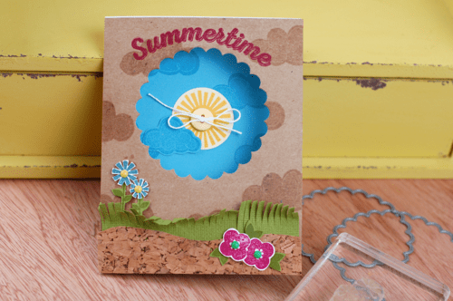 Project: Summer Window Card