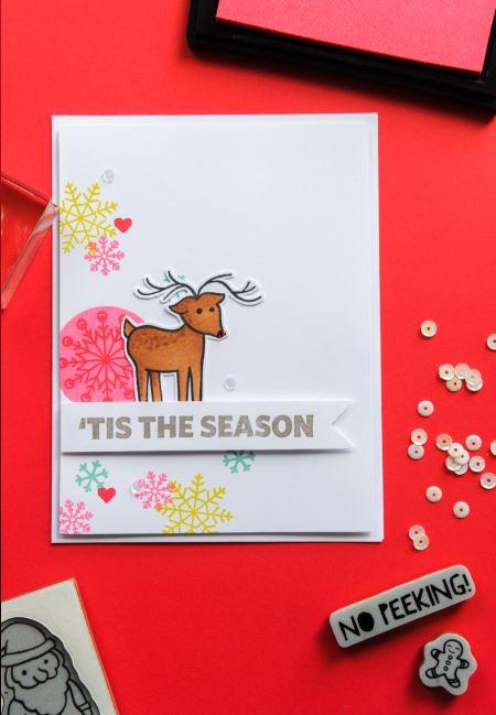 Giveaway: A Muse Studio Hoilday Stamp Set