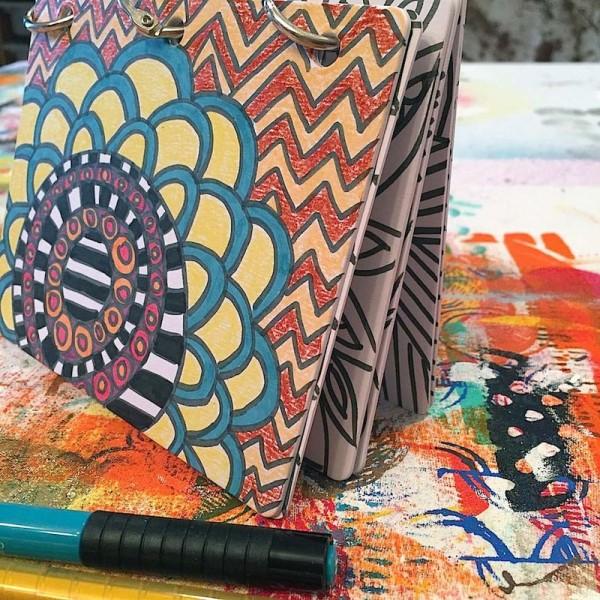 Project: DIY Mini Coloring Book