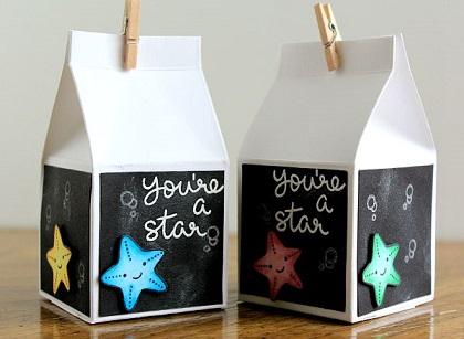 Project: Milk Carton Treat Box