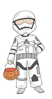 Freebie: Stormtrooper Kid Digital Stamp