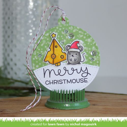Project: Holiday Mouse Gift Tag