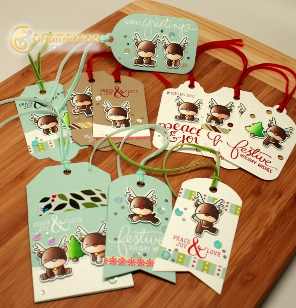 Project: Reindeer Holiday Gift Tags