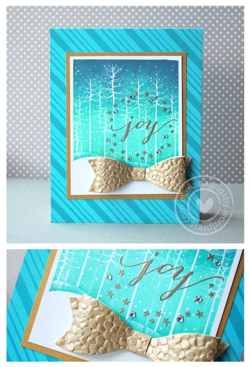 Project: Winter Scene Card