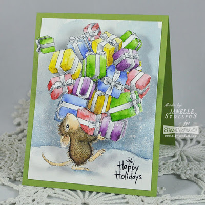 Project: Holiday Mouse Card