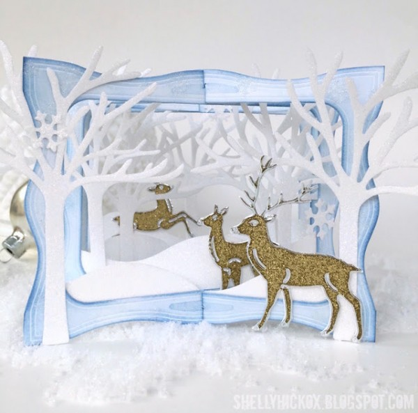 Project: Winter Scene Tunnel Card